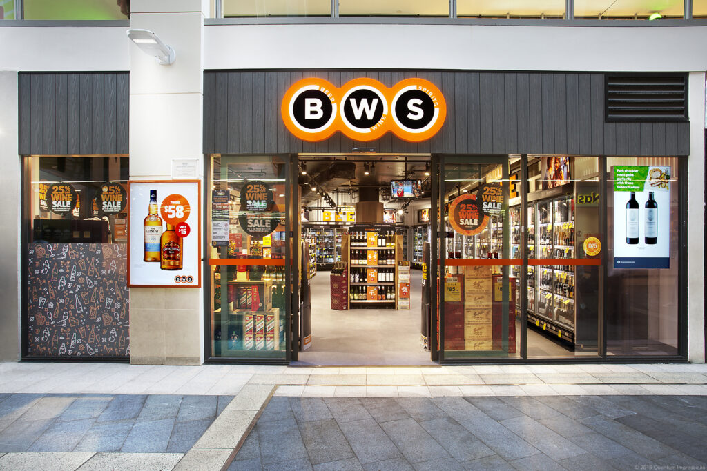 BWS - Chatswood Rail / Store Entry Front On